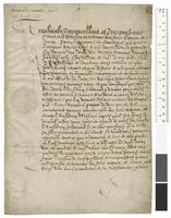 Letter signed by Philip II, King of Spain, to his nephew Rudolf II, Holy Roman Emperor
