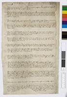 Memoranda about Charles d'Orléans's rights as Count of Blois