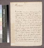 Letter of Paul Lejeune to Cardinal de Richelieu