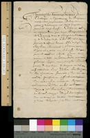 Printing agreement by Jacques de Sanlecque and Toussaint du Bray