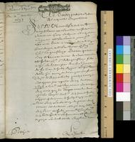 Legal papers concerning the estate of René de Hodon